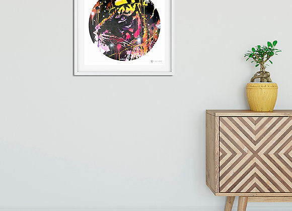 Limited Edition Print // Neon Tiger