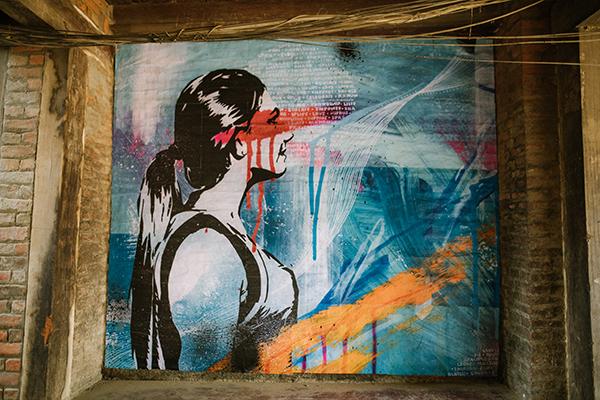 Sarah Sculley Street art