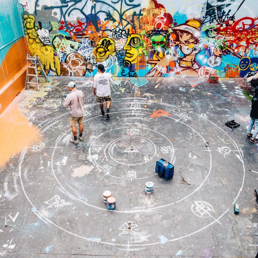 Jugglers courtyard