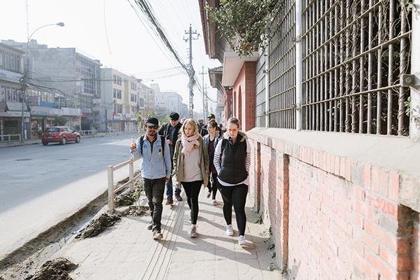 Educational tour of Kathmandu