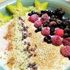 Hanfsamen- hast du die schon für dich entdeckt? #vollwertigpflanzlich#vegan#Frühstück