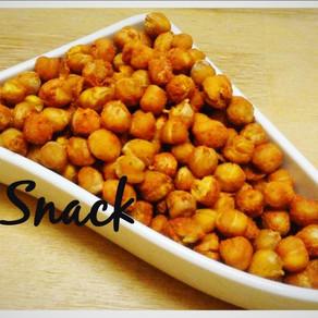 Snack 😍 Knusprige, geröstete Kichererbsen mit Suchtfaktor #vegan snacken
