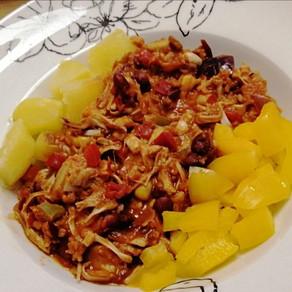 Jackfruit zubereiten oder wie du dir ein köstliches Chili sin Carne zauberst 🌱#vegan#vollwertig
