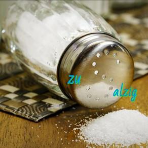 Salz- auf die Dosis kommt es an. Frisches  punktet 😊