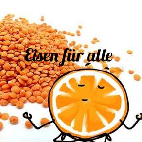 Eisen und Vitamin C - eine geschickte Kombination  🌿