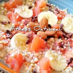 𝑭𝒊𝒕𝒏𝒆𝒔𝒔 Oatmeal 💪- Kraft durch Haferflocken #Sportlerfrühstück#veganfit
