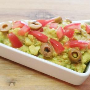 Würziger Guacamole-Dip für gemüsiges Fingerfood  #vegan#vollwertig pflanzlich#Dip