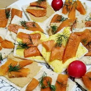 Karotten Lachs...endlich ausprobiert. Schmackhaftes Partyhäppchen🌱  #vegan