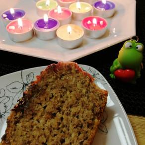 Saftiger veganer Nusskuchen mit Zimt/Schokoglasur 🎂 #vegan