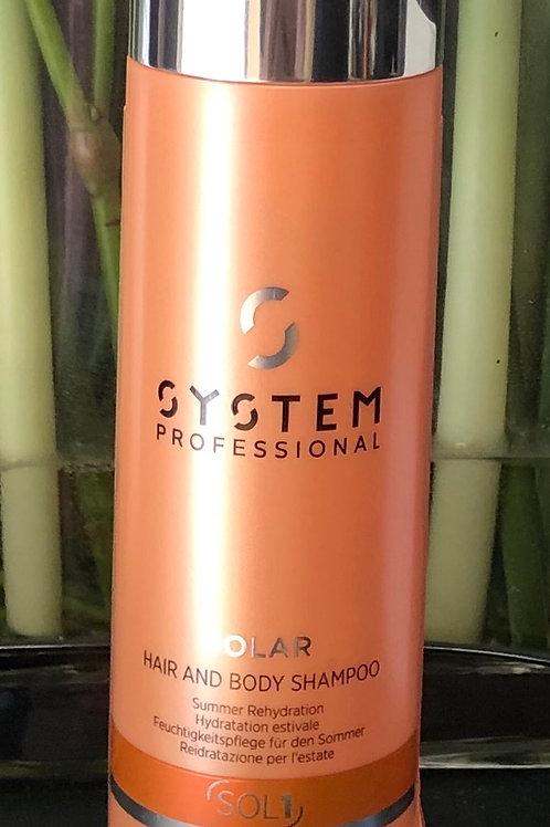 SP Solar Hair & Body Shampoo