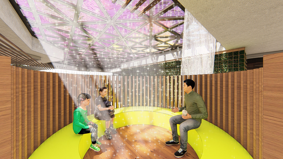 INTERACTION PODS CREATING OPPORTUNITIES FOR INTERACTIONS