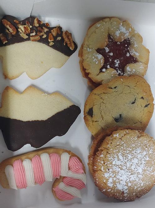 Holiday Cookie Box - Dozen
