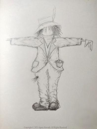Scarecrow sketch (2020)