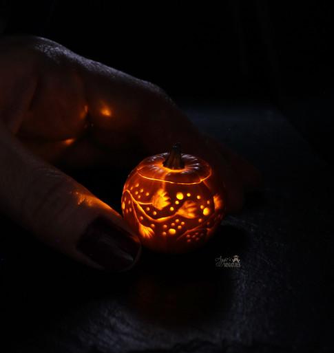 Pumpkin lamp (2020)