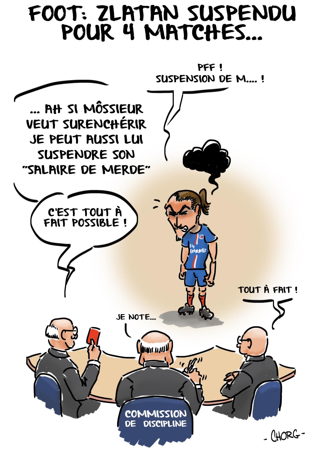 L'affaire Zlatan.