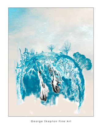New World - Acrylic & Ink