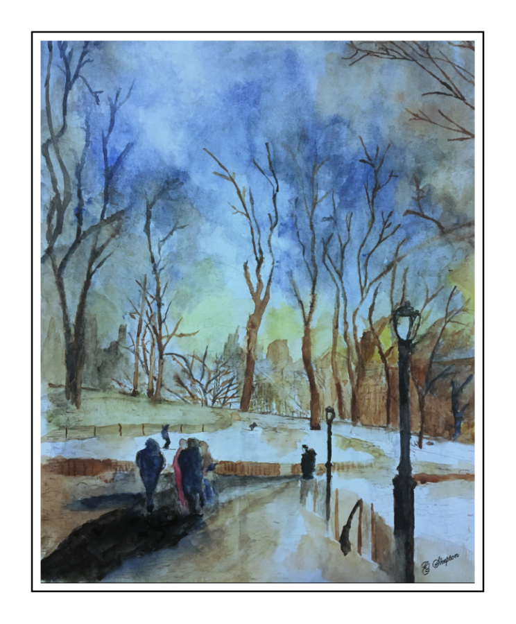 Winter Strolling in Central Park