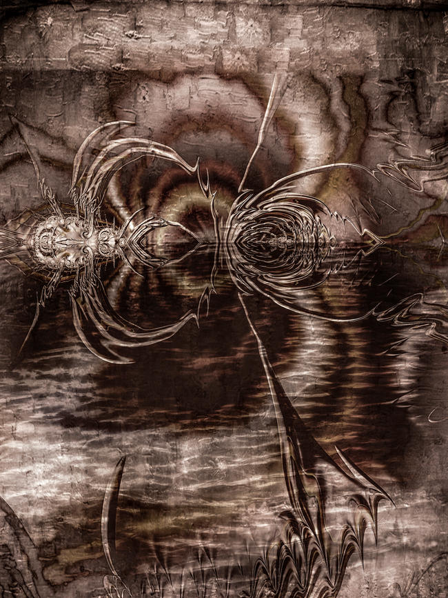 Spiders on the River Styx