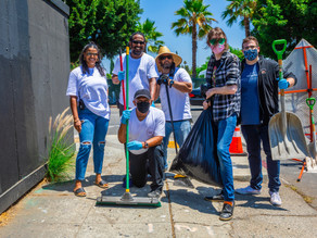 Multihouse Joins Hollywood Studio Neighborhood Council for Community Cleanup