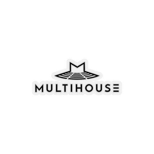 Multihouse Kiss-Cut Stickers