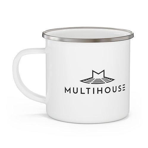 Multihouse Enamel Camping Mug
