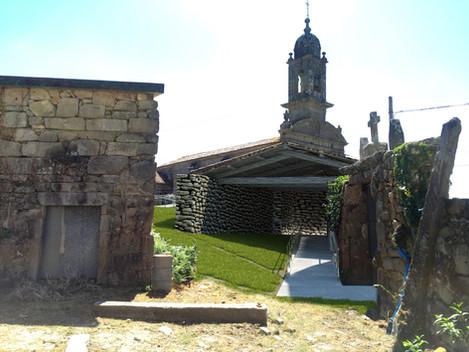 Nuevo proyecto para rampa de acceso a iglesia de Santa María de Samieira