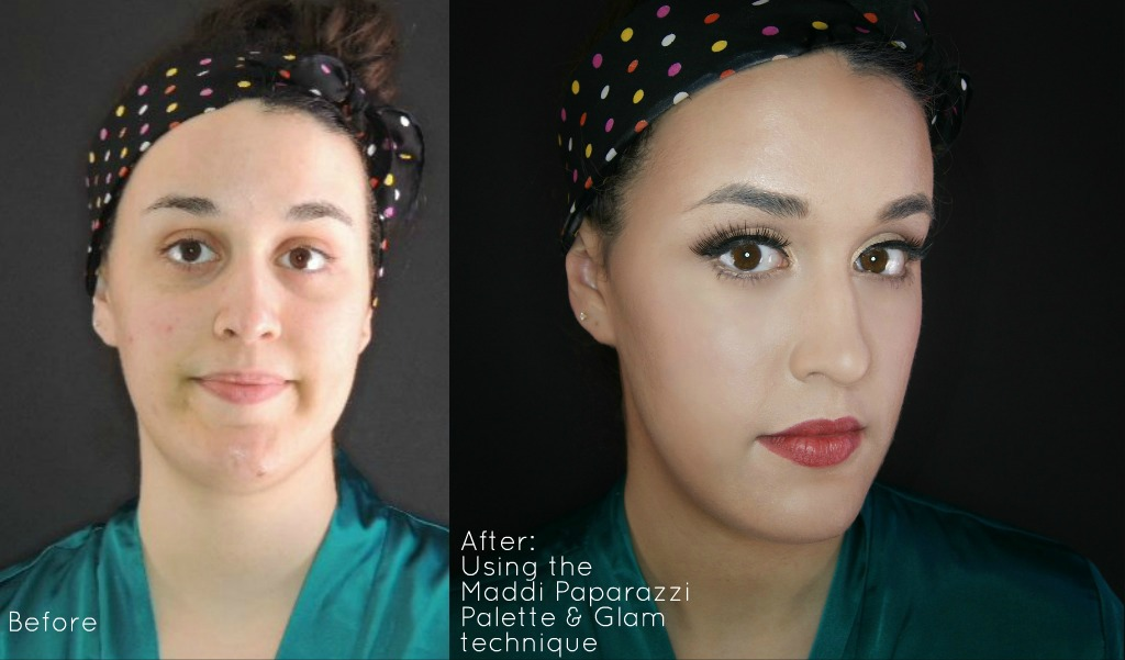 Before & After Makeup class