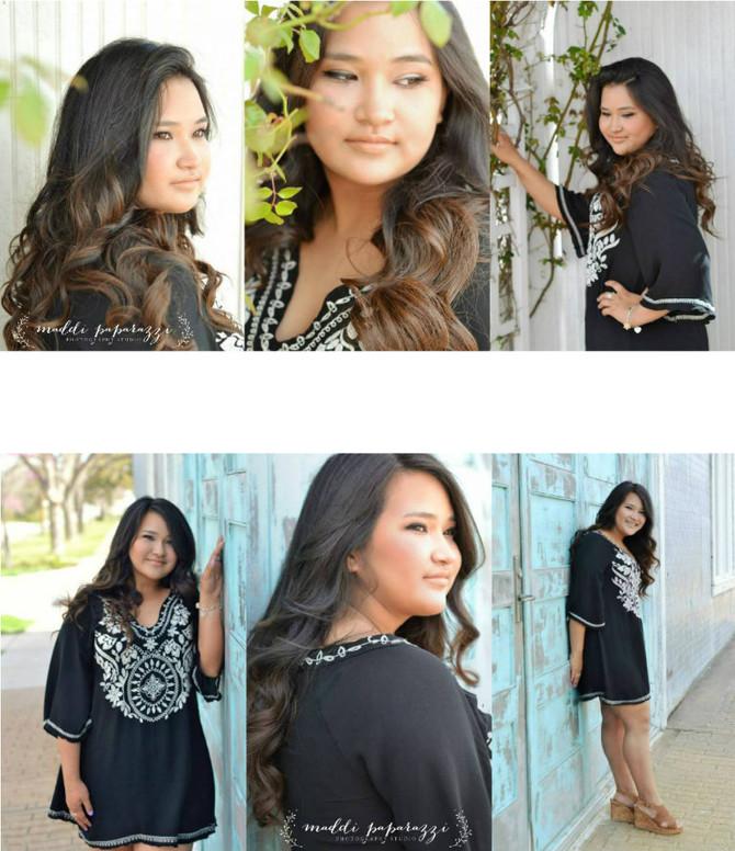 Anissa's Senior Portraits, Hutto High School