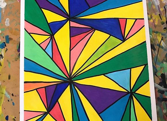 Cosmic Shards 2 A3 Original