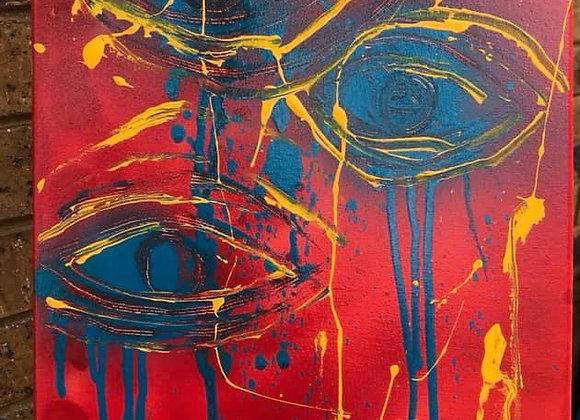 "Original Canvas Painting 12 x 16"""