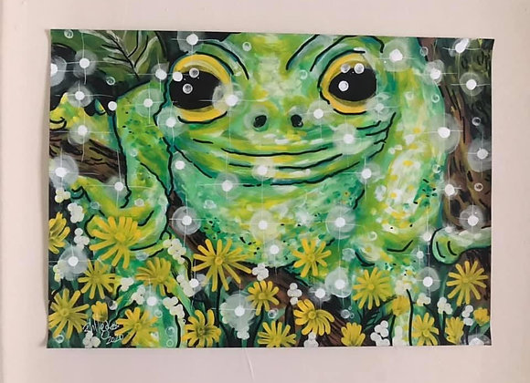 Flower Frog A3 Original