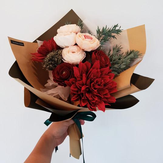Wine & Pine Bouquet