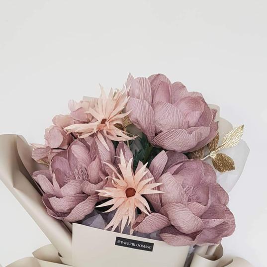 Chestnut Peonies Bouquet