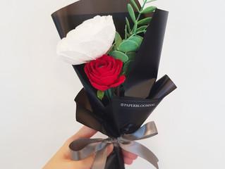 Paperblooms bouquet drafts
