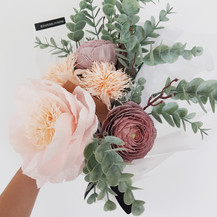 Japanese Peony and Ranunculus Bouquet