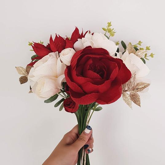 Wedding Bouquet (Red)