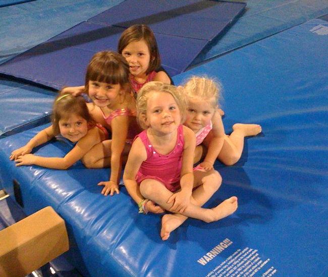 Gymnastics Class at CGC!