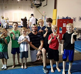 Boys Gymnastics at CGC!