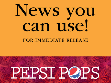 """FOR IMMEDIATE RELEASE: MSO Presents the 40th Annual PepsiPops – """"A Blast in the Park"""""""