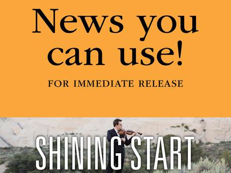 """FOR IMMEDIATE RELEASE: Sparkling Diamond Anniversary Opener """"Shining Start"""""""