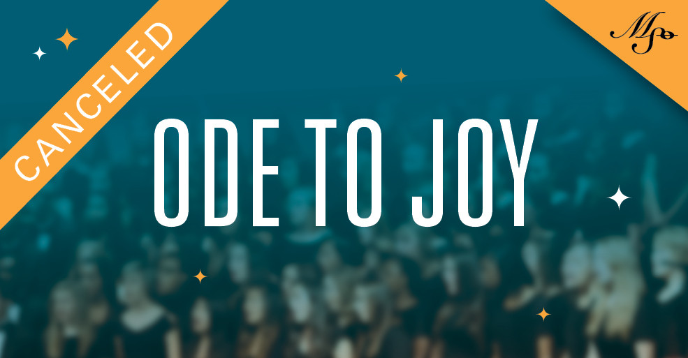 Ode to Joy | March 28 | Thalia Mara Hall | 7:30 pm