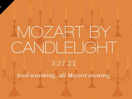 Soul-warming, all-Mozart evening