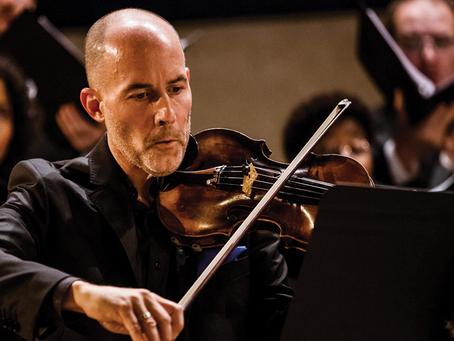 Beck & Beattie: Guest Violinist Stephen Redfield