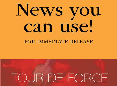 "FOR IMMEDIATE RELEASE: MSO Celebrates Bravo Season Opener ""Tour de Force"" and Legislative Resolution"