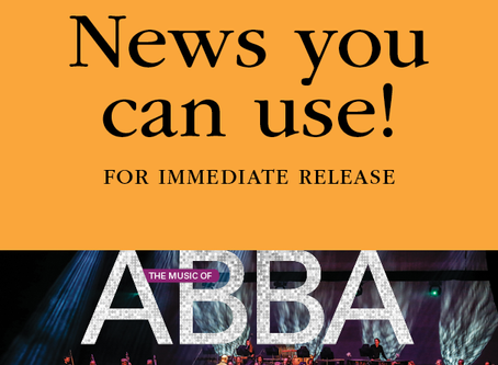 FOR IMMEDIATE RELEASE: MSO and Jeans'n Classics present The Music of ABBA!