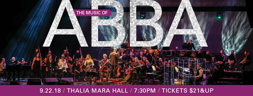 MSO presents The Music of ABBA performed by Jeans'n Classics Saturday, September 22 at Thalia Mara Hall