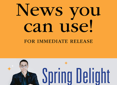 """FOR IMMEDIATE RELEASE: """"Spring Delight"""" features Guest Conductor & Classical Guitarist"""