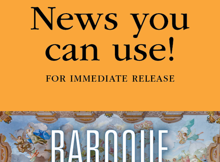 FOR IMMEDIATE RELEASE: Annual Baroque at St. Andrew's Cathedral