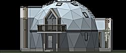 ドームハウス 自由設計 木造 住宅 コテージ フラードーム 間取り 設計事務所 構造計算
