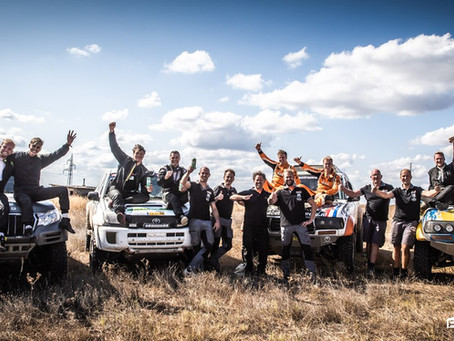 Tweede en vijfde plaats in de Balkan Offroad Rallye 2019 voor Brinky Rallysport